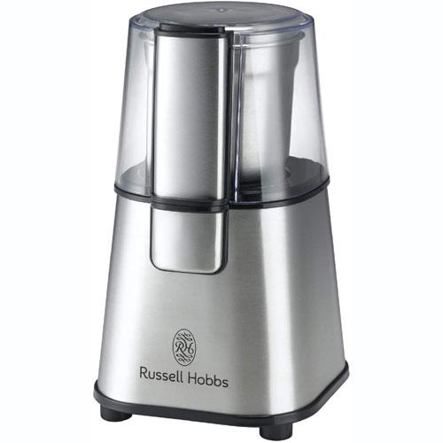 もっと手軽に美味しいコーヒーを愉しみたいという方にオススメラッセルホブス 売却 コーヒーグラインダー ラッセルホブス 7660JP 定価の67%OFF 1台 コーヒーミル
