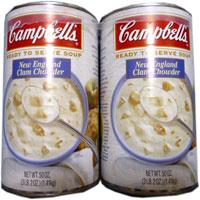 【Campbell's】キャンベル クラムチャウダー 1.4kg×2缶【大容量】【コストコ】【costco】