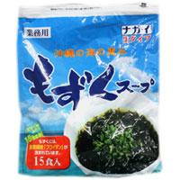 税込3 980円以上で送料無料 沖縄の海の恵みもずくスープ ナガイ 売れ筋ランキング 25%OFF もずくスープ 15食分 コストコ costco