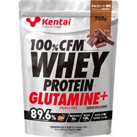 【kentai】100%CFMホエイプロテイン グルタミンプラススーパーデリシャス チョコレート風味 700g【ケンタイ】【プロテイン】