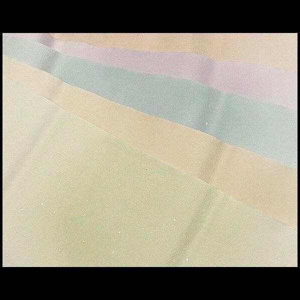 本楮紙 金銀切箔金砂子加工 5色50枚セット:書道用品 奈良 寿香堂
