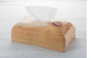 ヒノキのティッシュケース(白木) オリジナル商品 こだわりの逸品 ハンドメイド