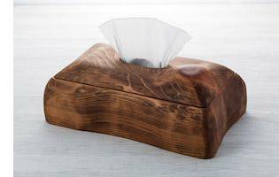 ヒノキのティッシュケース(アンティーク調) オリジナル商品 こだわりの逸品 ハンドメイド