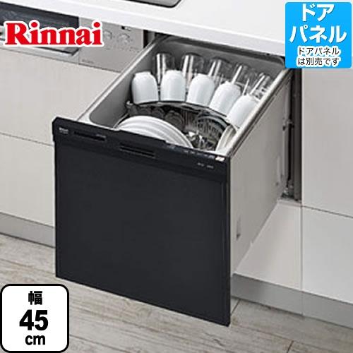 [RKW-404A-B]リンナイ 食器洗い乾燥機 ビルトイン食洗機 スリムラインフェイス 食器洗い機 ビルトイン 約5人分(37点) コンパクトタイプ 約5人分(37点) 幅45cm ブラック サークルラック ブラック 食洗機 食器洗い機【送料無料】【RSW-404A-Bの同グレード品】, 愛dealギフト-内祝い引き出物:132849ef --- officewill.xsrv.jp
