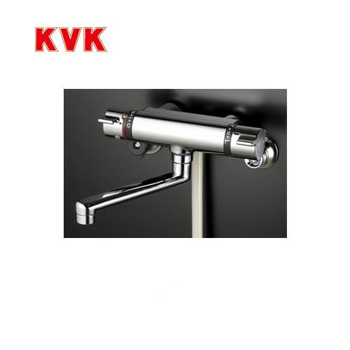 [KF800TR3]KVK 浴室水栓 シャワー水栓 サーモスタットシャワー金具(壁付きタイプ) 300mmパイプ付 逆止弁 快適節水シャワー 蛇口 【送料無料】 壁付タイプ おしゃれ