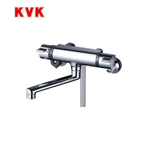 [KF800WTMB]KVK 浴室水栓 サーモスタット式シャワー 壁付タイプ フルメタルシャワーヘッド付 【送料無料】 おしゃれ