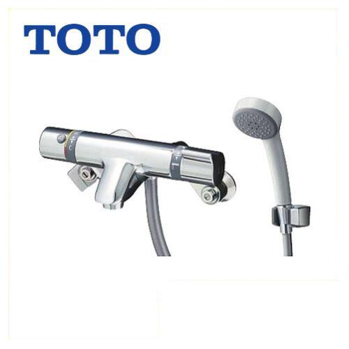 [TMF44E1R]TOTO 浴室水栓 シャワー水栓 サーモスタットシャワー金具 エアインシャワー 洗い場専用 蛇口 【送料無料】 壁付タイプ おしゃれ 【シールテープ無料プレゼント!(希望者のみ)※同送の為開梱します】