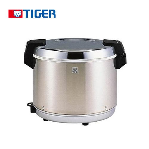 [JHA-540A-STN] タイガー 業務用厨房機器 業務用電子ジャー 炊きたて ダブルヒーター方式 3升 100V 保温専用 通電ランプつき ステンレス 【送料無料】