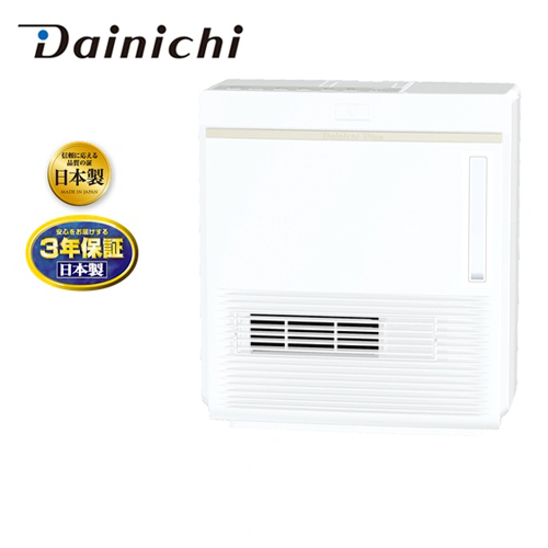 [EFH-1217D-W] ダイニチ ヒーター・ストーブ 加湿セラミックファンヒーター 暖房1200W 日本製 3.8Lタンク 加湿量:480ml/h ホワイト 【送料無料】