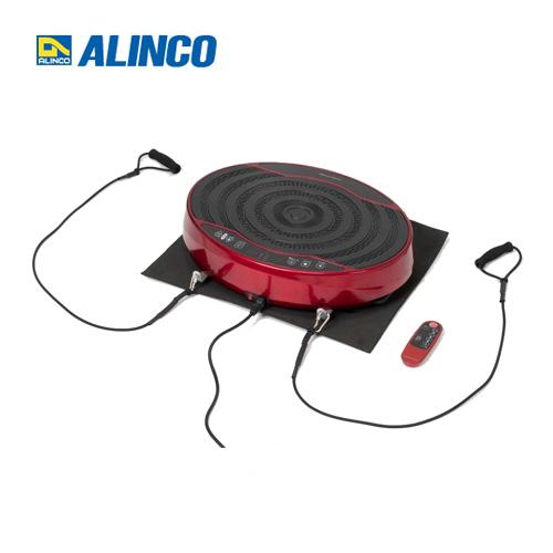 [FAV4117-R] アルインコ フィットネス BALANCE WAVE mini バランスウェーブミニ 振動マシン 1分間:約200~400回の上下振動 筋トレ 血行促進 バランス運動 レッド コントローラー付属 【送料無料】