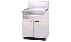 UKC-660-Wリンナイ両開式(後板スライドタイプ)システムアップキャビネットホワイト扉※ガスコンロ本体をご購入のお客様のみの販売となります