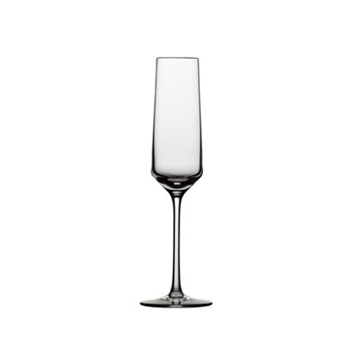 [30017] ツヴィーゼル ワイン ワイングラス ピュア フルートシャンパン EP  口径42×最大径72×高さ252 6脚 209cc 【送料無料】【メーカー直送のため代引不可】