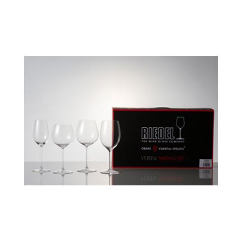 [459]【メーカー直送のため代引不可】 リーデル ワイン ワイングラス ヴェリタス テイスティングセット 5449/47 1セット クリスタル 【送料無料】