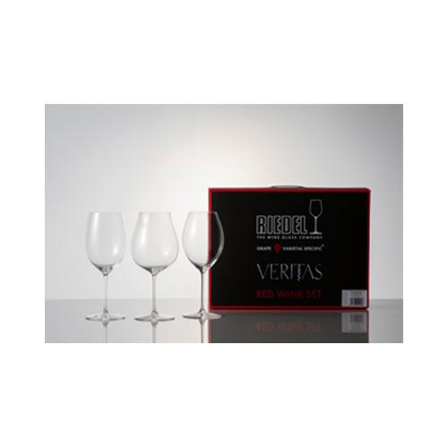 [460]【メーカー直送のため代引不可】 リーデル ワイン ワイングラス ヴェリタス レッドワイン・テイスティングセット 5449/74 1セット 【送料無料】