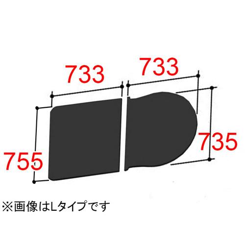 LIXIL(INAX) 組フタ 【品番:YFK-1576B(7)L-D/K】