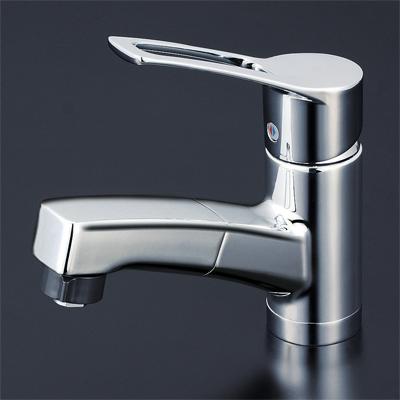 一般地用 【品番:KM8001TF】● 洗面用シングルレバー式シャワー付混合栓 KVK