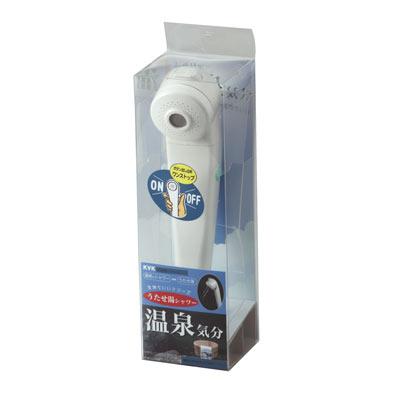 KVK うたせ湯シャワーヘッド(ワンストップ機能付・減圧弁付) 【品番:PZ935】
