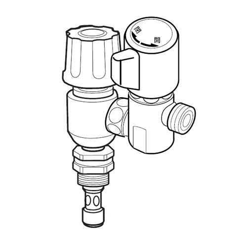 ナニワ製作所 分岐水栓(内ネジ用) 【品番:NSJ-EM7】