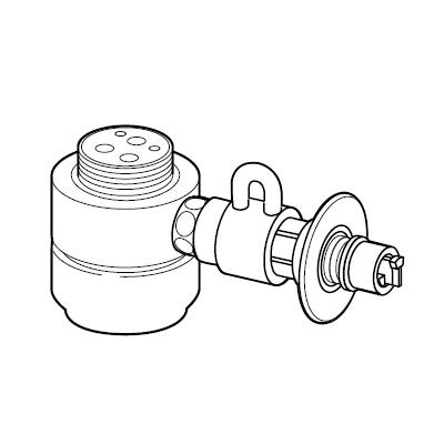 パナソニック 分岐水栓 【品番:CB-SKH6】●