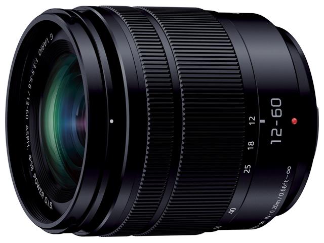 パナソニック デジタル一眼カメラ用交換レンズ(標準ズームレンズ:ブラック) 【品番:H-FS12060】
