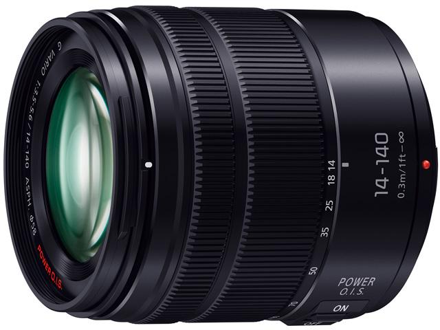 パナソニック デジタル一眼カメラ用交換レンズ(標準ズームレンズ:ブラック) 【品番:H-FS14140-KA】