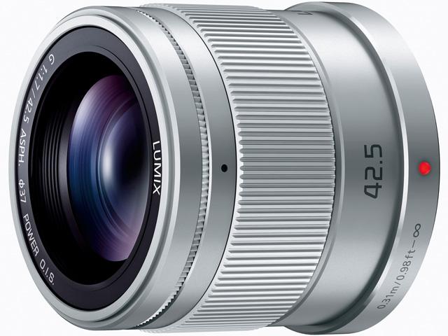 パナソニック デジタル一眼カメラ用交換レンズ(単焦点レンズ:シルバー) 【品番:H-HS043-S】