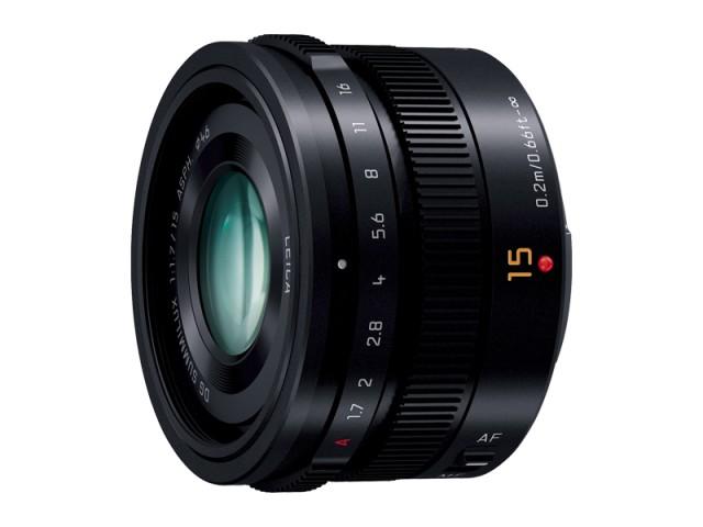 パナソニック デジタル一眼カメラ用交換レンズ(単焦点レンズ:ブラック)  【品番:H-X015-K】