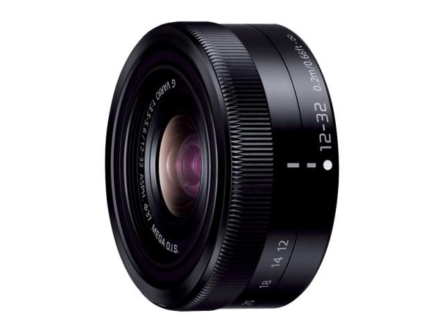 パナソニック デジタル一眼カメラ用交換レンズ(標準ズームレンズ:ブラック) 【品番:H-FS12032-K】