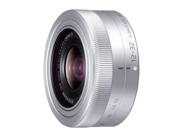パナソニック デジタル一眼カメラ用交換レンズ(標準ズームレンズ:シルバー) 【品番:H-FS12032-S】