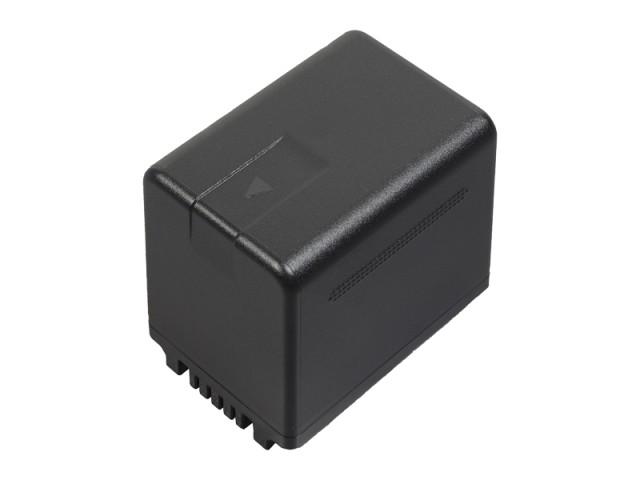 パナソニック リチウムイオンバッテリー 小型・軽量タイプ (残量時間表示タイプ) 【品番:VW-VBT380-K】