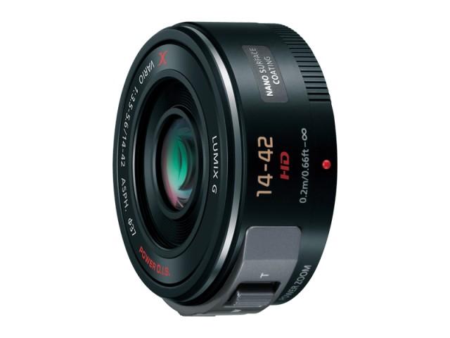 パナソニック デジタル一眼カメラ用交換レンズ(標準ズームレンズ:ブラック) 【品番:H-PS14042-K】