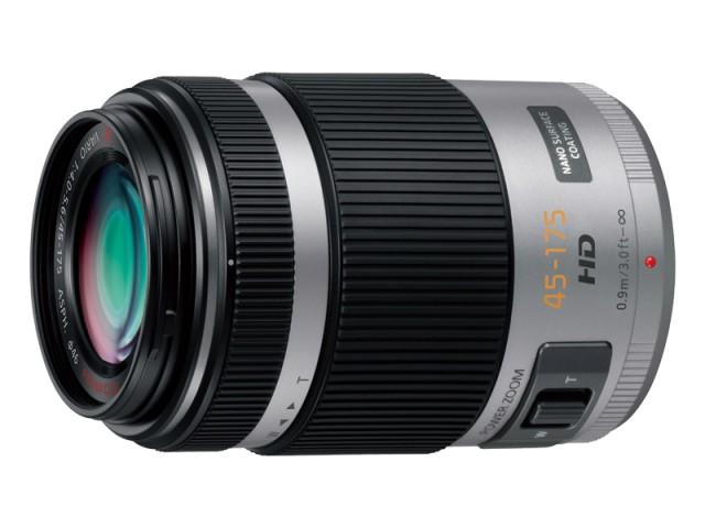 パナソニック デジタル一眼カメラ用交換レンズ(望遠ズームレンズ:シルバー) 【品番:H-PS45175-S】
