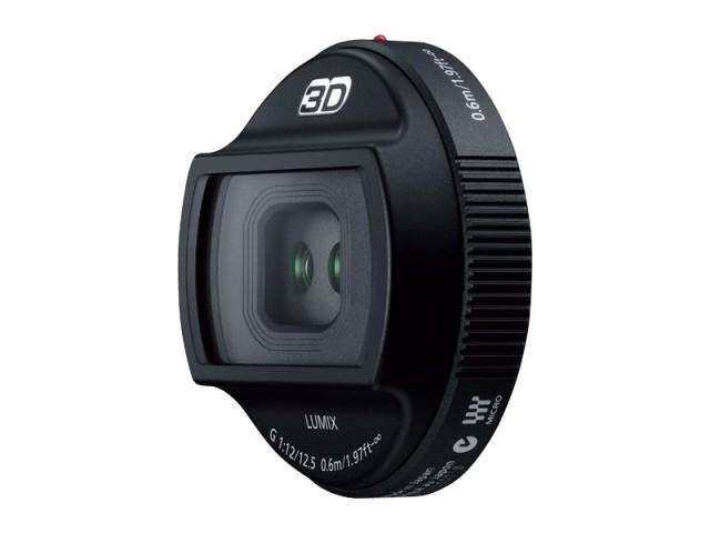 パナソニック デジタル一眼カメラ用交換レンズ(3Dレンズ) 【品番:H-FT012】
