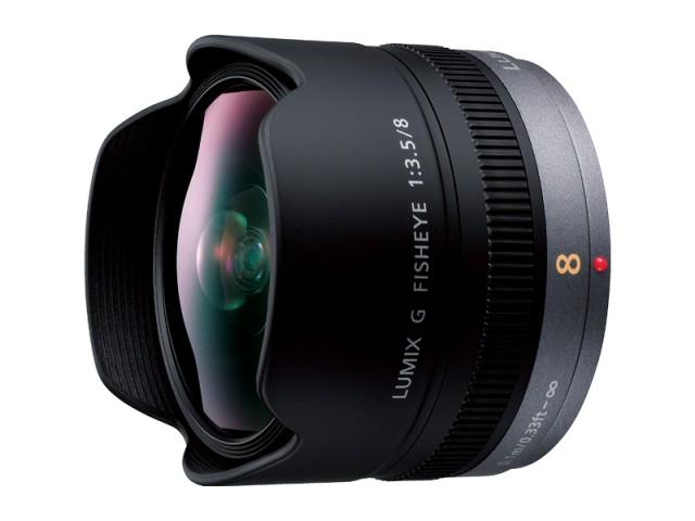 パナソニック デジタル一眼カメラ用交換レンズ(魚眼レンズ) 【品番:H-F008】