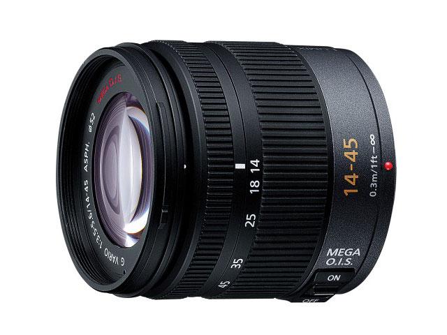 パナソニック デジタル一眼カメラ用交換レンズ(標準ズームレンズ) 【品番:H-FS014045】