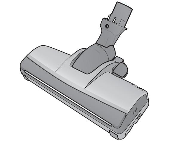 パナソニック 床用ノズル(小型軽量パワーノズル)(ブラウン用) 【品番:AMV85P-JT0J】