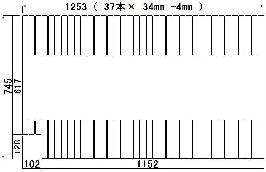 パナソニック 巻きふた・サーモデッキ用(1316)L勝手用 【品番:RSW75MN1K1XLC】