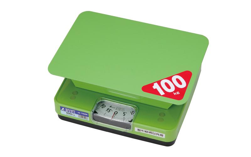 ほうさく 取引証明以外用 簡易自動はかり 【品番:70008】 シンワ測定 100kg