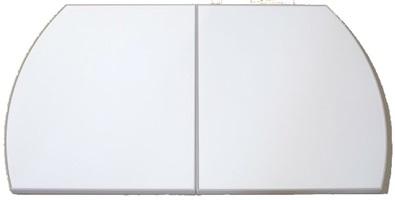タカラスタンダード 組み合わせ式風呂フタ(2枚組) フロフタMVAH-S12WT 【品番:41627707】