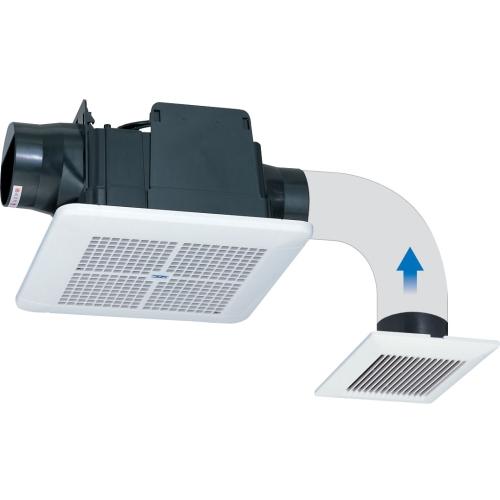 高須産業 ダクト式24時間換気システム 天井埋込形換気扇(2室同時換気タイプ) 【品番:TK-225R2L】●