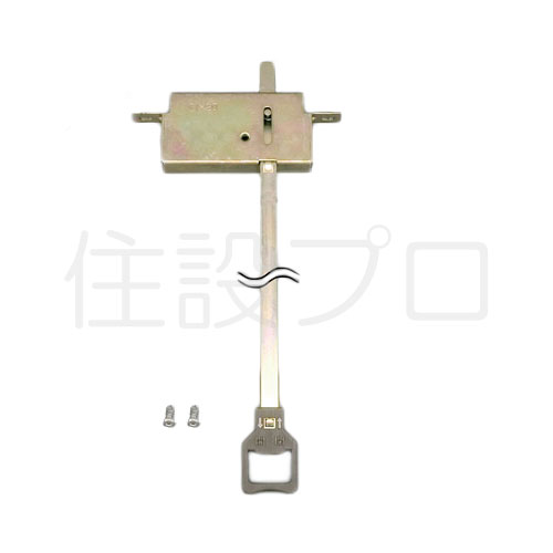 LIXIL(トステム) 雨戸錠(上用) めっき仕上げ 【品番:C1X20】