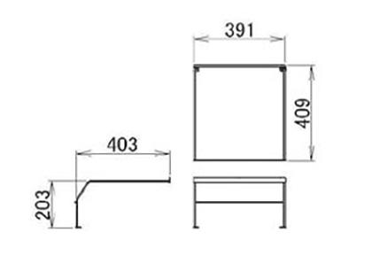 LIXIL(トステム) ランドリーW450用 ガードバー 【品番:QRE209W450】