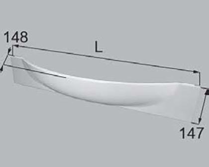 LIXIL(トステム) エプロンシステムLS ホワイト 【品番:QRB119C1000】