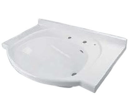 LIXIL(トステム) システムLSカウンター 洗髪ホワイト 【品番:QRB117B1200】