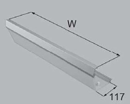 LIXIL(トステム) 照明カバー オープン用 【品番:QUA6W100】