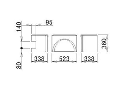 LIXIL(トステム) 浴槽エプロン12**(L) 【品番:RMFS402】
