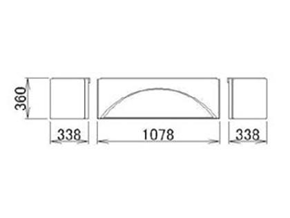 LIXIL(トステム) 浴槽エプロン1717 【品番:RMFT601】