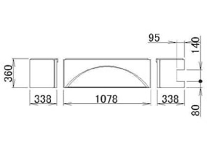 LIXIL(トステム) 浴槽エプロン1717(R) 【品番:RMFT701】