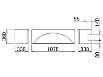 LIXIL(トステム) 浴槽エプロン1717(R) 【品番:RMFV701】