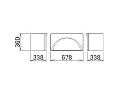 LIXIL(トステム) 浴槽エプロン1318 【品番:RMFT803】